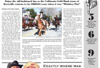 California Gold Rush Coloring Pages - Whiskey Flat Claim Jumper 2012 by Kern River Courier issuu