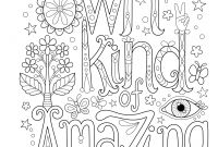 Calm the F Down Coloring Book Pages - Amazon More Good Vibes Coloring Book Coloring is Fun Design
