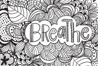 Calm the F Down Coloring Book Pages - Joyful Inspiration Adult Coloring Book 31 Stress Relieving Designs