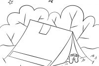 Camping Coloring Pages to Print - Camping Worksheets — Proworksheet