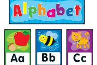 Carson Dellosa Coloring Pages - Amazon Carson Dellosa Alphabet Bulletin Board Set