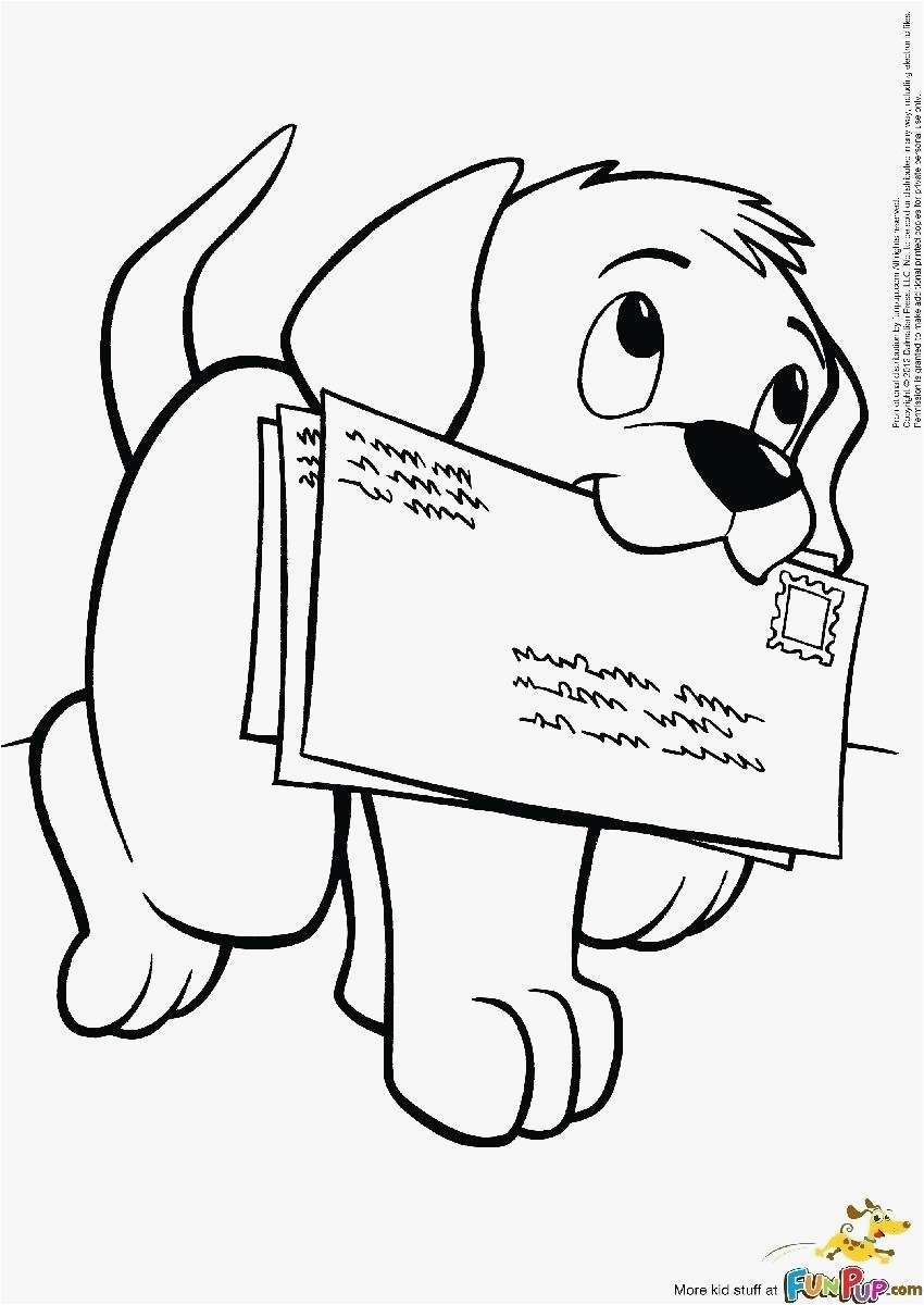 Cartoon Puppy Coloring Pages  to Print 19l - Free For Children