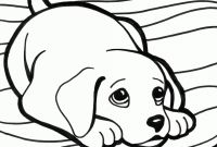 Cartoon Puppy Coloring Pages - Cartoon Puppy Coloring Pages