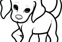 Cartoon Puppy Coloring Pages - Lofty Idea Colouring Pages A Dog Puppies Coloring Printable Page