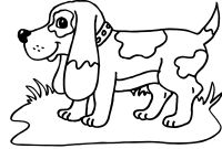 Cartoon Puppy Coloring Pages - Printable Od Dog Coloring Pages Free Colouring Pages – Fun Time