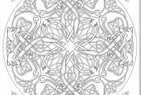 Celtic Coloring Pages - Coloring Books for Grown Ups Celtic Mandala Coloring Pages