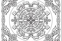 Celtic Coloring Pages Free - Celtic Knot Coloring Pages for Kids Chronicles Network