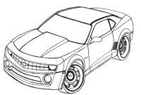 Chevy Coloring Pages - Chevrolet Camaros Fast Cars Faster Women Camaros