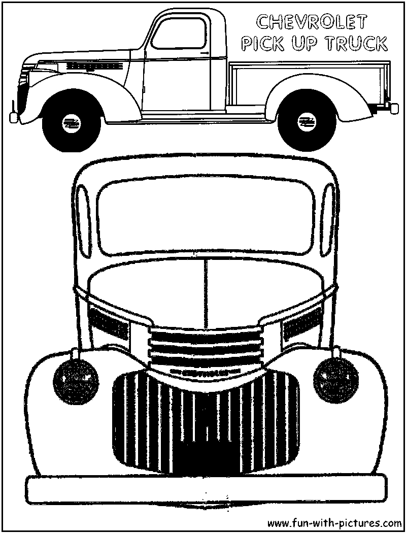 Chevy Coloring Pages  Download 14d - Free For kids