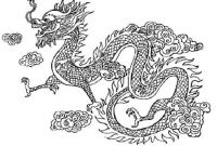 Chinese Dragon Coloring Pages - Baby Dragon Coloring Pages