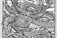 Chinese Dragon Coloring Pages - Chinese Dragon Coloring Pages for Adult Coloring Pages