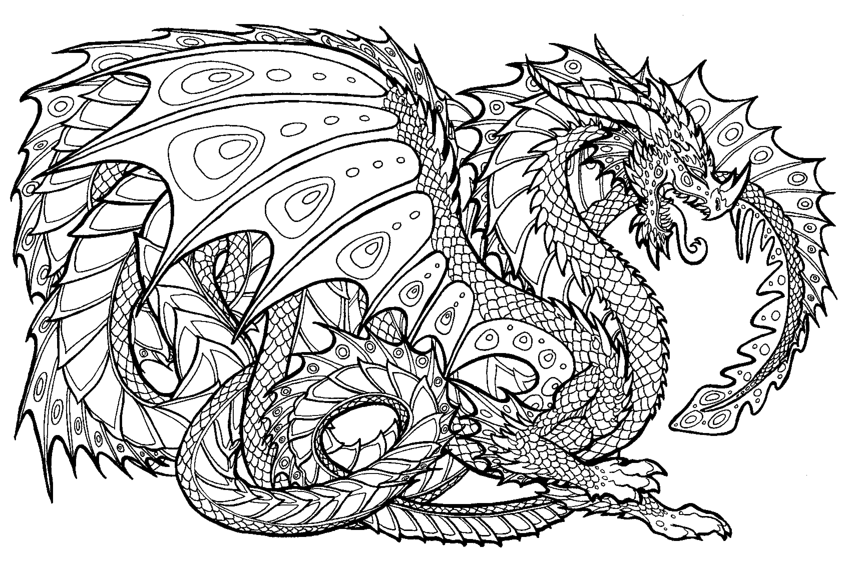 Chinese Dragon Coloring Pages  Download 8j - Free Download