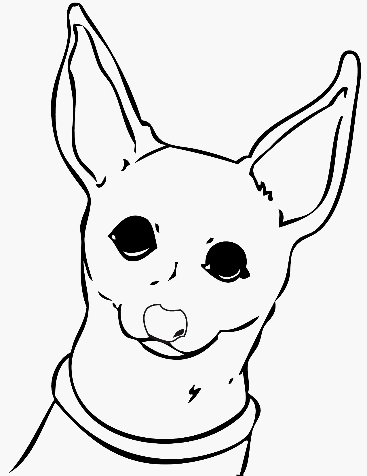 Chiwawa Coloring Pages  Download 17i - Free For kids