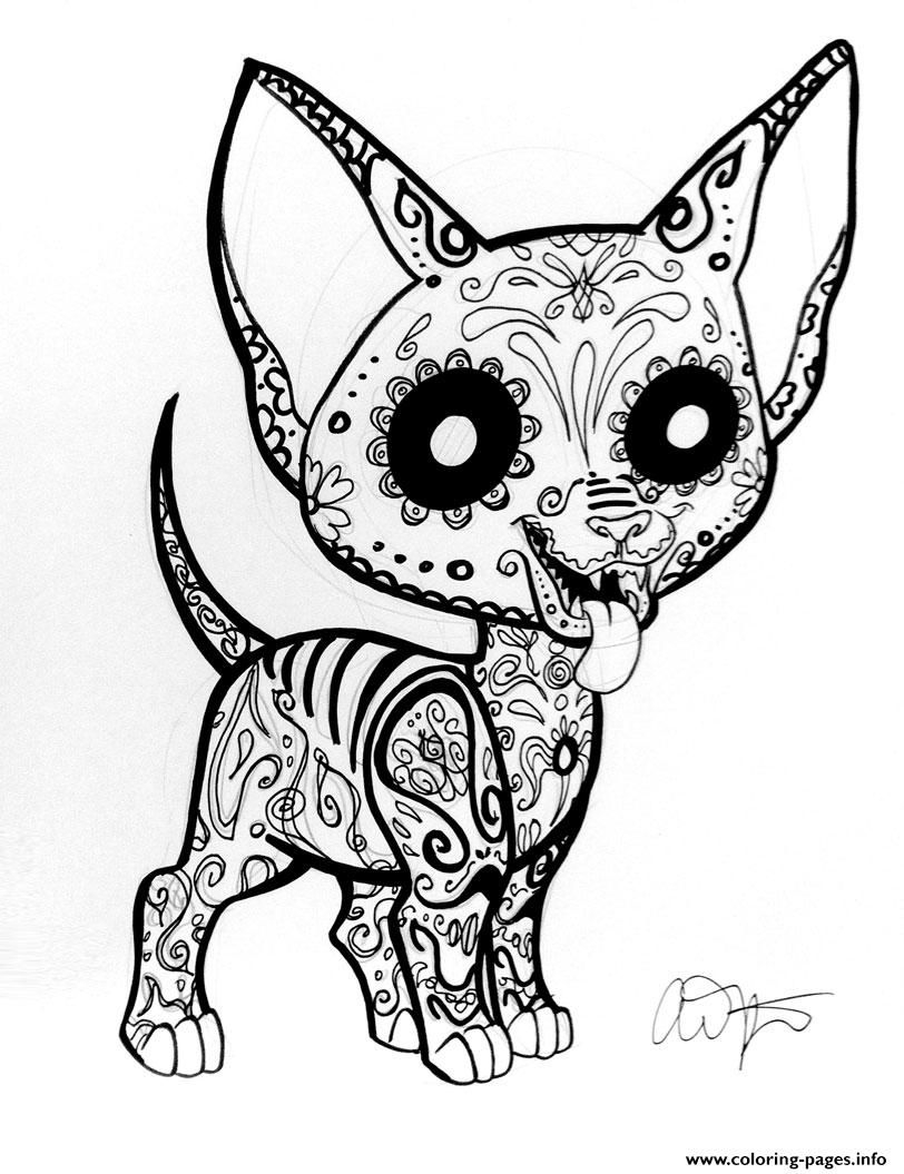 Chiwawa Coloring Pages  Download 4t - Free For kids