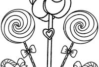 Chocolate Candy Coloring Pages - Printable Candyland Coloring Pages for Kids Cool2bkids