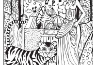 Circus Coloring Pages - A Day at the Circus Coloring Page On Behance