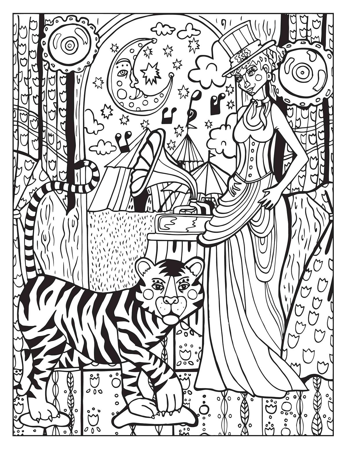 Circus Coloring Pages  Printable 9e - Free For Children