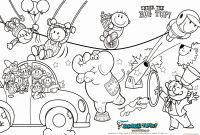 Circus Coloring Pages - Shrek Face Coloring Pages