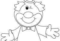 Clown Coloring Pages - Addobbi E Decorazioni Di Carnevale Festone Con Pagliacci