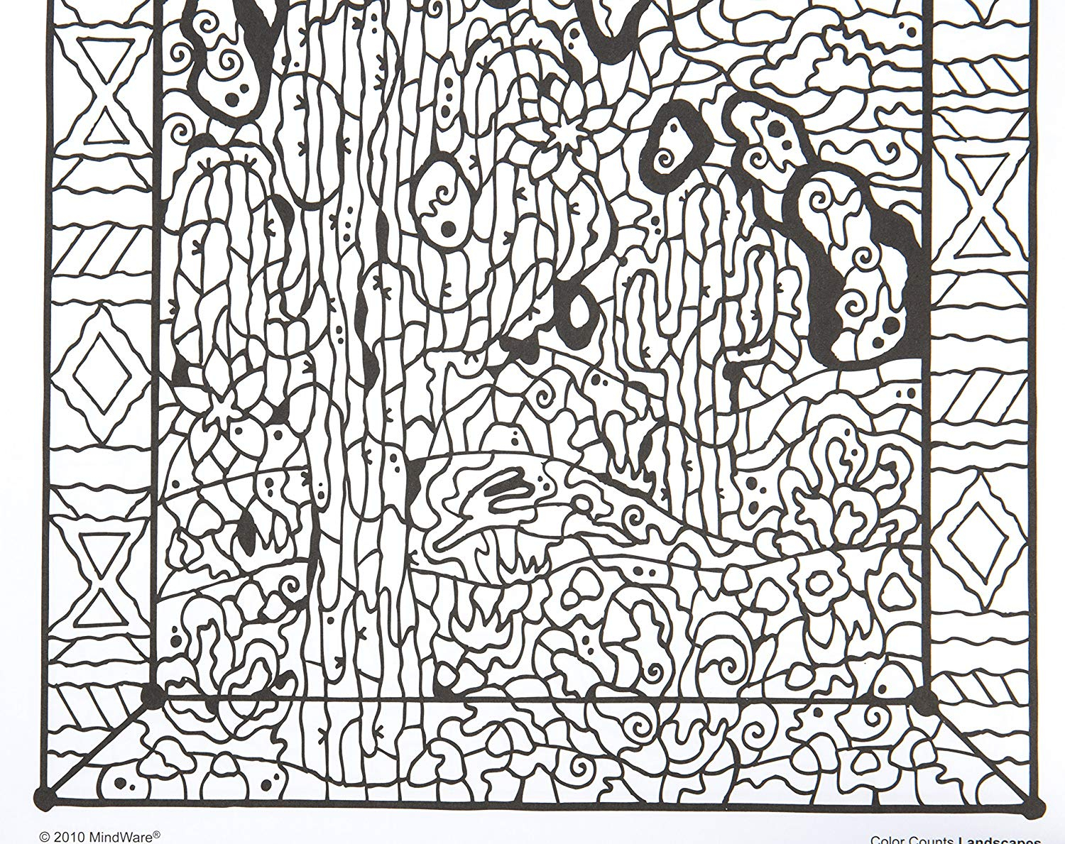 Color Counts Coloring Pages  Collection 6t - To print for your project