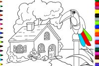Color Counts Coloring Pages - Coloring Beautiful House