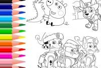 Color Counts Coloring Pages - How to Color Paw Patrol Coloring Pages Peppa Pig Colouring Book