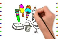 Color Counts Coloring Pages - Super 10 Ice Cream Picture Coloring Page Drawing for Kids Ice Cream