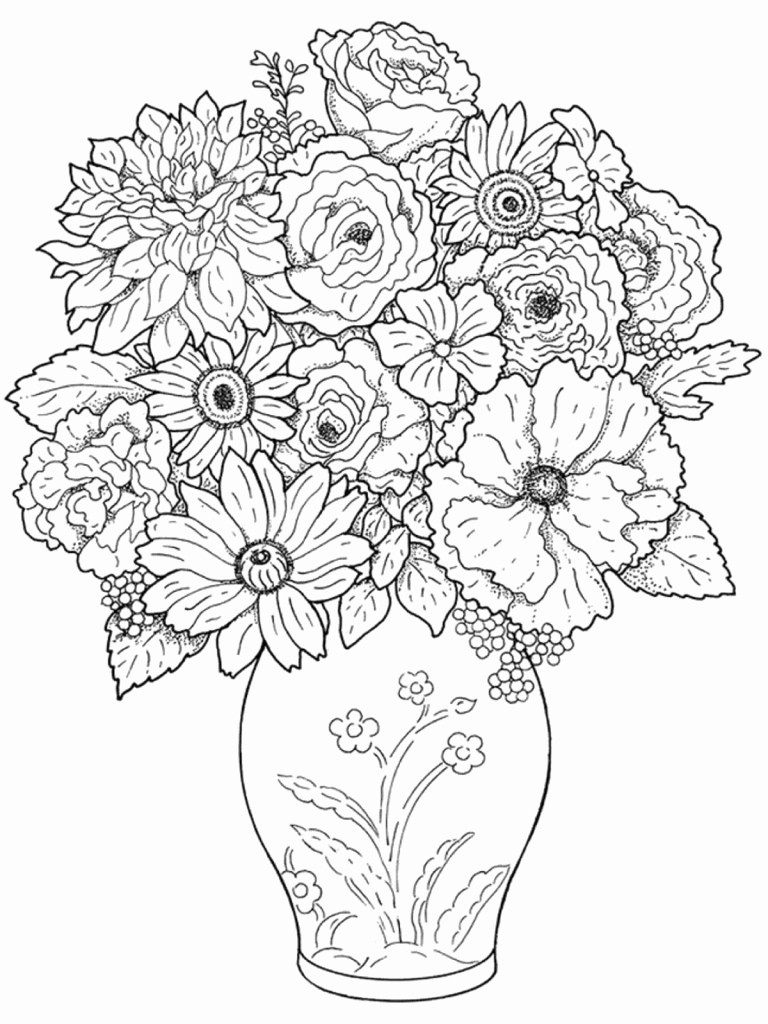 Colored Pencil Coloring Pages  Printable 12g - Free Download