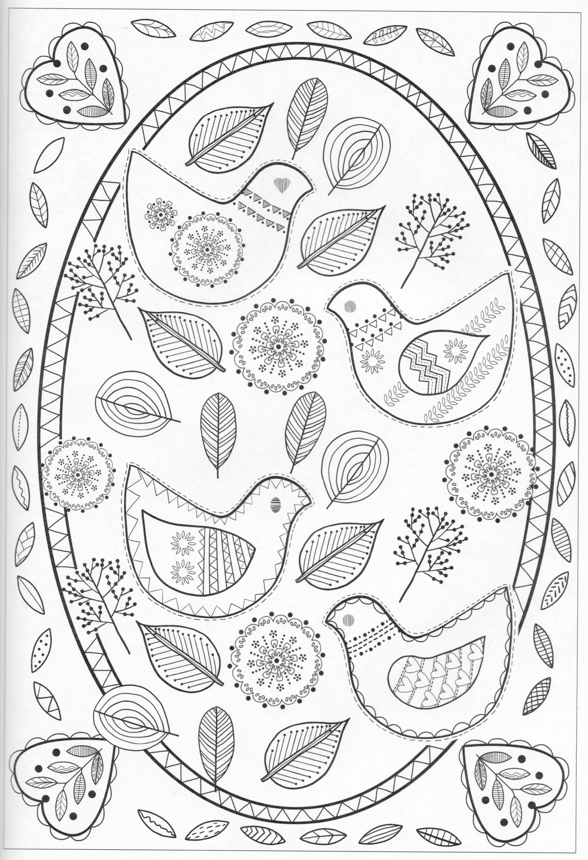 Colored Pencil Coloring Pages  Printable 19d - Save it to your computer