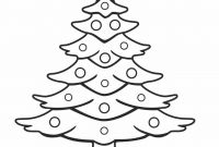 Coloring Pages Christmas Tree - sophisticated Picture Xmas Tree