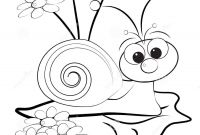 Coloring Pages Daisies - Coloring Page Snail Daisy Unique Pages Stock Printable