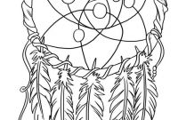 Coloring Pages Dream Catchers - Dream Catcher Coloring Pages Pinterest