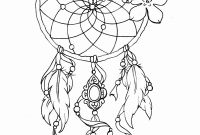 Coloring Pages Dream Catchers - Dreamcatcher Coloring Page Mikalhameed