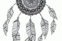 Coloring Pages Dream Catchers - Zentangle Lapacz Snow by Rabanikviantart On Deviantart