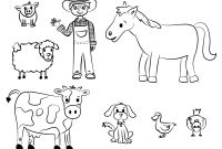 Coloring Pages Farm Scenes - Old Mcdonald Coloring Page Back to School Pinterest
