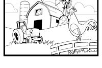 Coloring Pages Farm Scenes - Pin by Mickey Myers On Coloring Pages Line Drawings Chickens