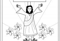 Coloring Pages for Palm Sunday - Palm Sunday Coloring Pages Religious Best He is Risen Page Jesus