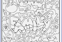 Coloring Pages for Teenagers Graffiti - 16 Coloring Pages Graffiti