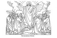Coloring Pages Jesus ascension - ascension Coloring Page Coloring Pages Coloring Pages