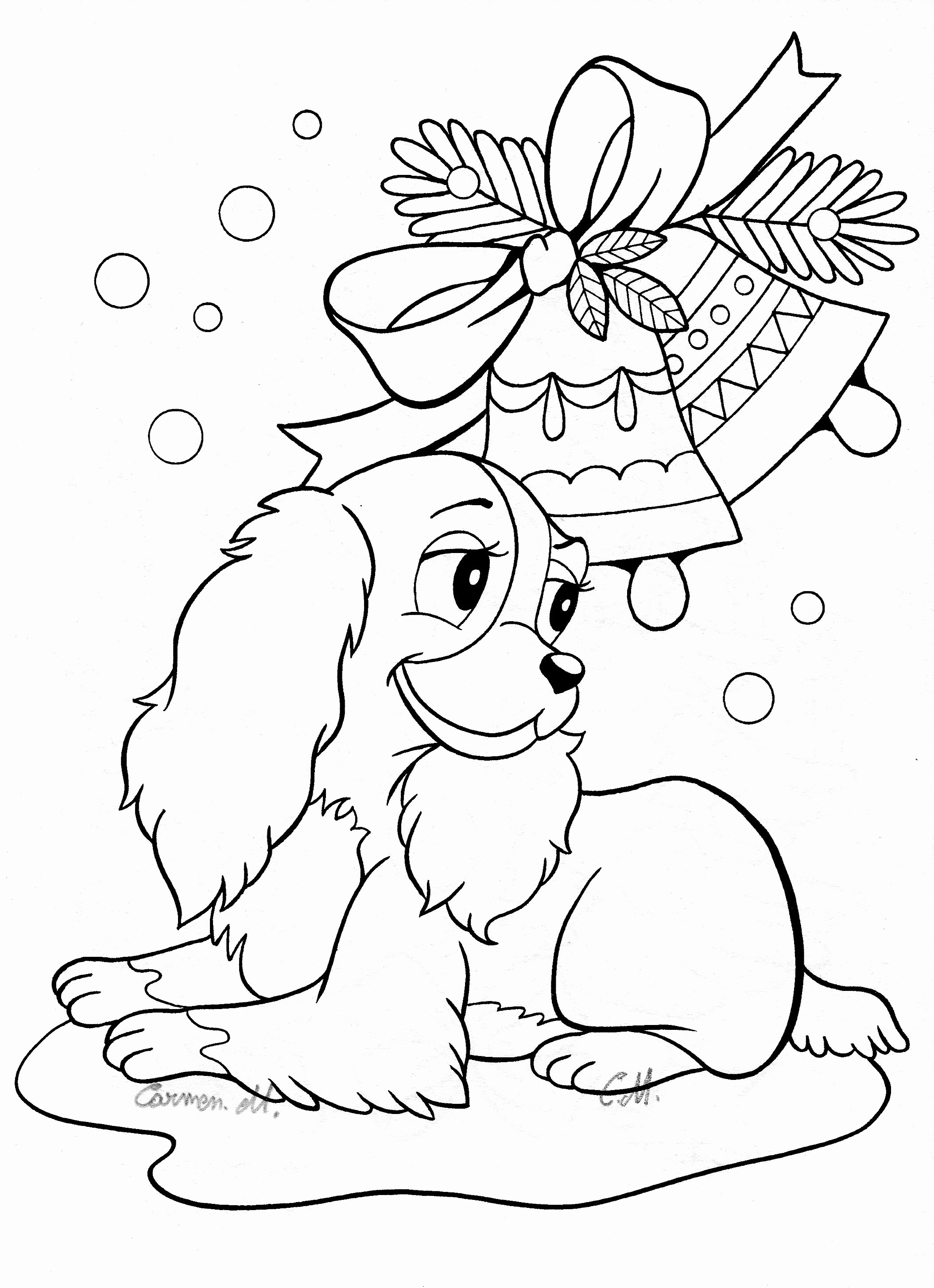Coloring Pages Of Christmas Trees Collection | Free ...