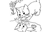 Coloring Pages Of Kittens - 9 Kitten Coloring Page