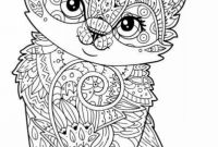Coloring Pages Of Kittens - Kitty Cat Coloring Pages Printable Printable