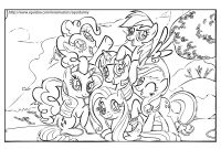 Coloring Pages Of My Little Pony Friendship is Magic - Coloring Pages