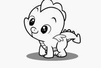 Coloring Pages Of My Little Pony Friendship is Magic - Poney Para Colorir Exemplo Spike My Little Pony Coloring Page