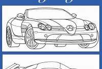 Coloring Pages Of Sports Cars - Race Car Coloring Sheet