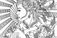 Coloring Pages Of Women - Free Printable Zen Coloring Pages Fresh Adult Coloring Pages