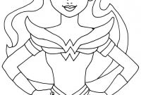 Coloring Pages Of Women - Superhero Coloring Pages Gallery thephotosync