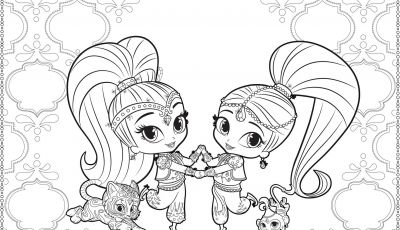Coloring Pages Shimmer and Shine - 12 Inspirational Shimmer and Shine Printable Coloring Pages