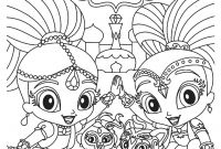 Coloring Pages Shimmer and Shine - Lovely Free Coloring Pages for Girls Shimmer and Shine