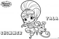Coloring Pages Shimmer and Shine - Shimmer and Shine Printable Coloring Pages Lovely Sumerian Coloring